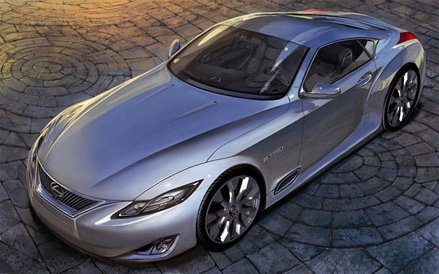 2014 Lexus LC 600h, the Next-Gen SC