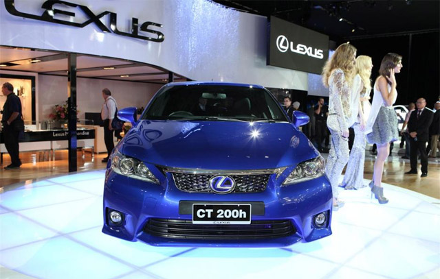 Lexus CT 200h F-Sport Live