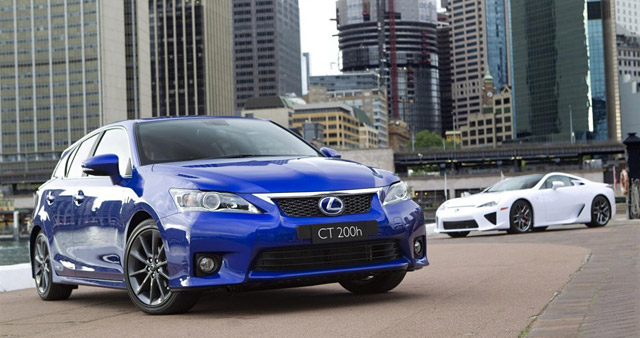 Lexus CT 200h F-Sport Package