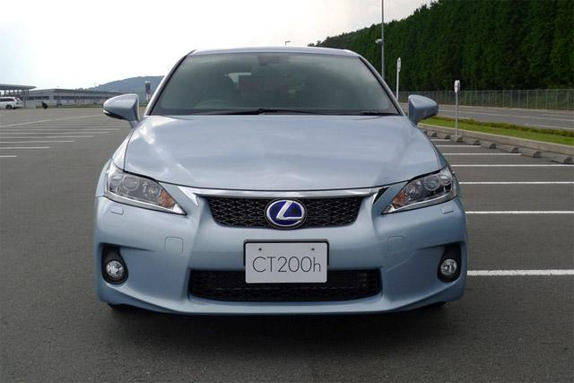 Blue Lexus CT 200h F-Sport