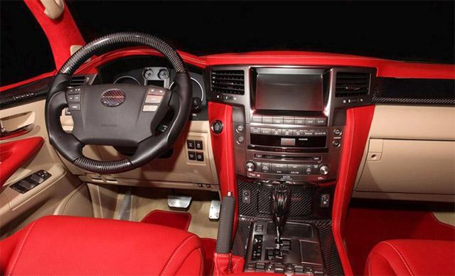 Lexus LX 570 ASI Invader Interior
