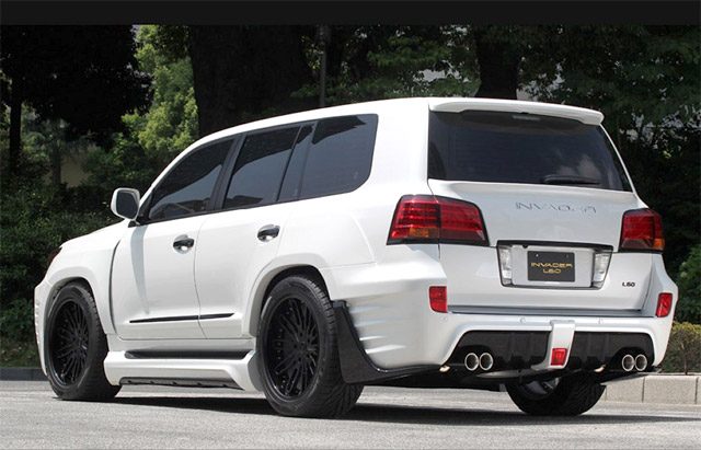 Lexus LX 570 ASI Invader in White