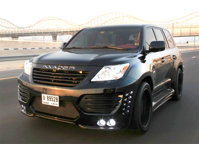Lexus Lx 570 Asi Invader Arrives In The Middle East Lexus Enthusiast