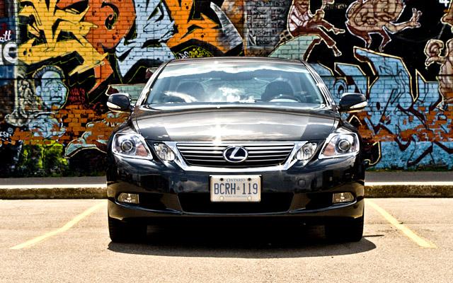 2010 Lexus GS 450h Front Grille