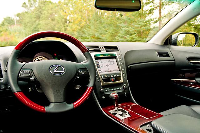 2010 Lexus GS 450h Interior