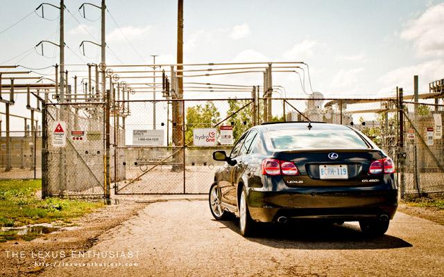 2010 Lexus GS 450h Rear View