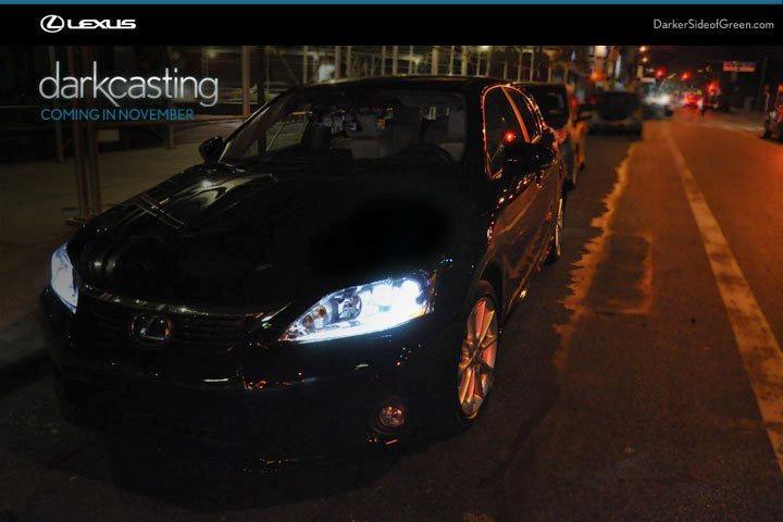 Lexus CT 200h Darkcasting