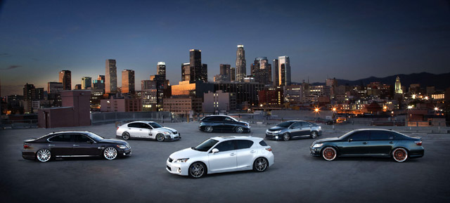 2010 Lexus SEMA Lineup