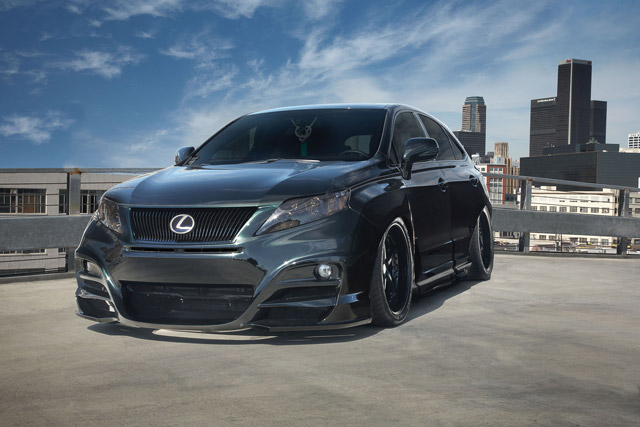 Lexus RX 450h for SEMA 2010