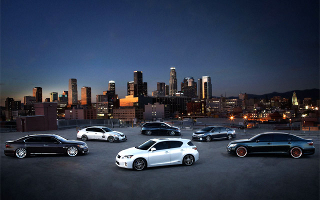 Lexus SEMA 2010 Lineup Wallpaper