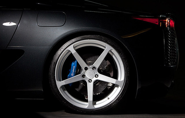 Lexus LFA on CEC Wheels