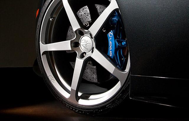 Lexus LFA on CEC Wheels profile