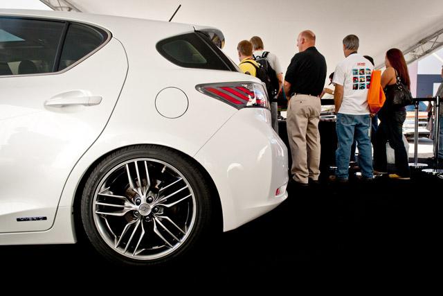 Lexus CT 200h F-Sport Wheels