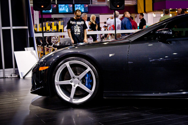 Lexus LFA Driver Side Wheel