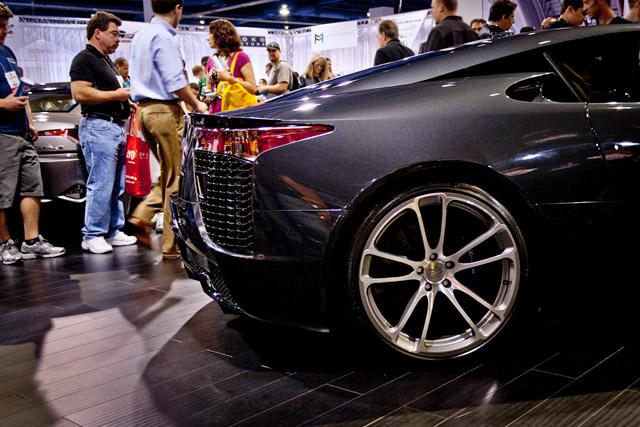 Lexus LFA Passenger-Side Wheel