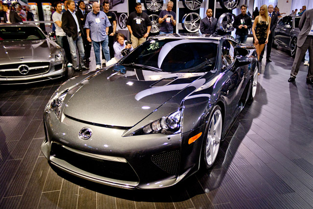 Lexus LFA SEMA