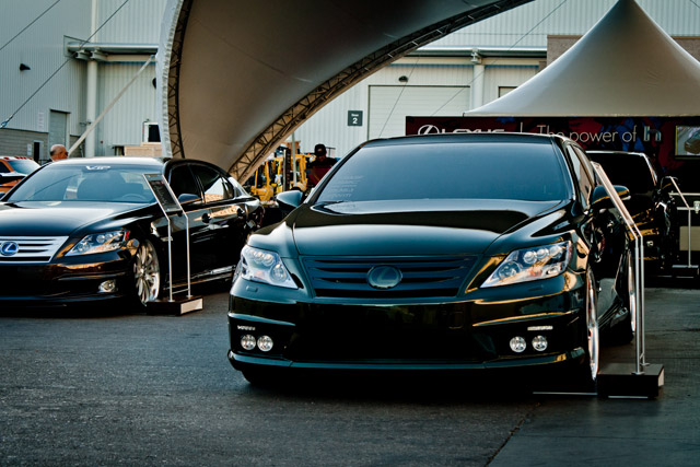 Lexus LS 600hL SEMA Fox Marketing