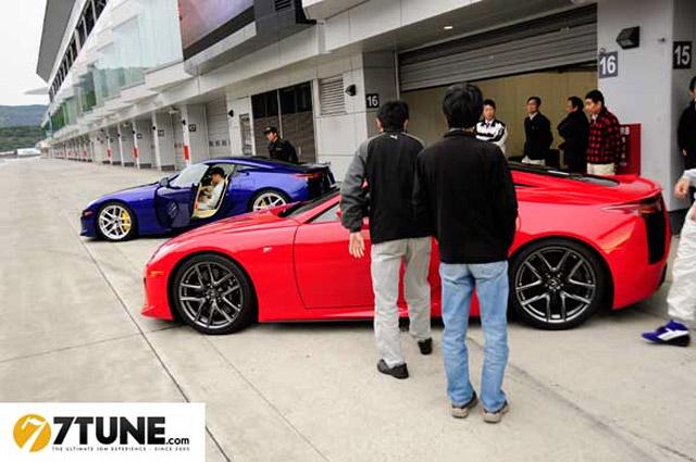 Lexus LFA Fuji Speedway