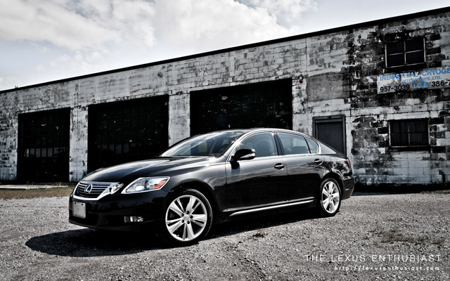 2010 Lexus GS 450h Cryogenic Front