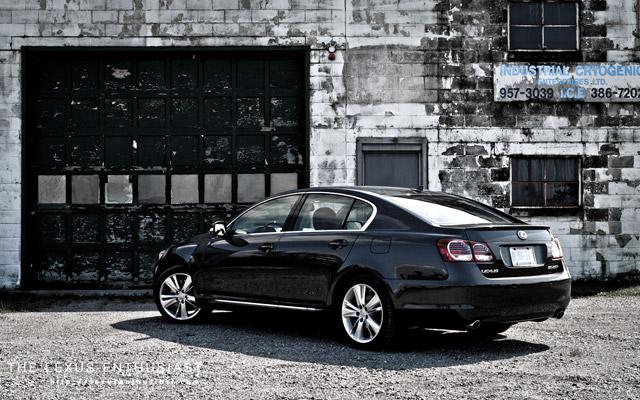 2010 Lexus GS 450h Cryogenic Rear