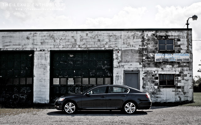 2010 Lexus GS 450h Cryogenic Side