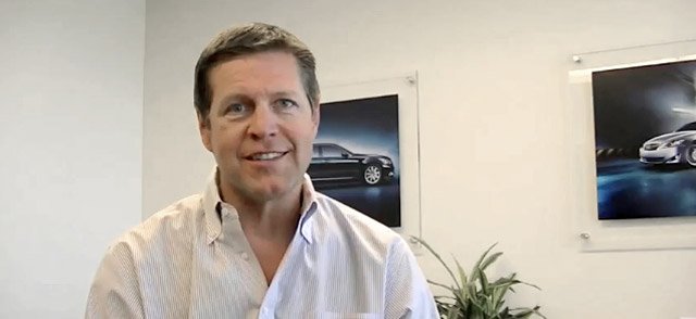 Lexus USA General Manager Mark Templin