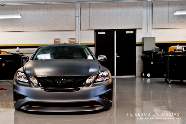 Lexus Project GS Front-end
