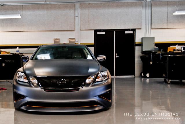 Lexus Project GS Front-end