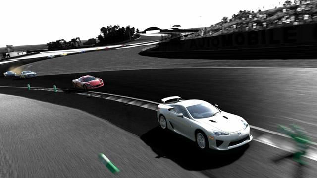Lexus in Gran Turismo 5 Bird's Eye