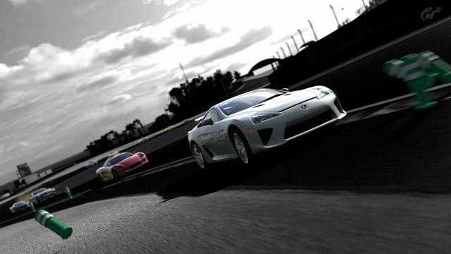 Lexus LFA in Gran Turismo 5 Front
