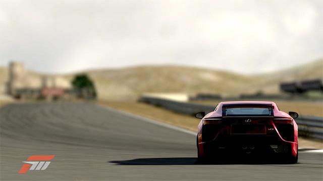 Lexus LFA in Forza 3 Rear