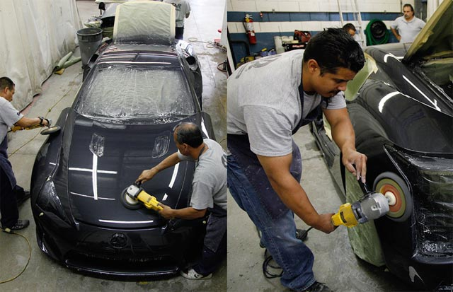 Lexus LFA Being Buffed