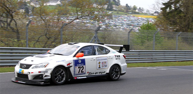 Lexus IS-F During Nürburgring 24h Race