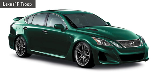 2012 Lexus GS-F