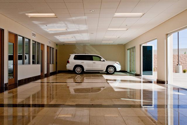 Lexus of Henderson Dealership Show-off Room