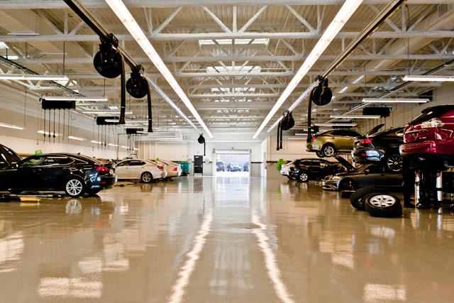 Lexus of Henderson Service Area