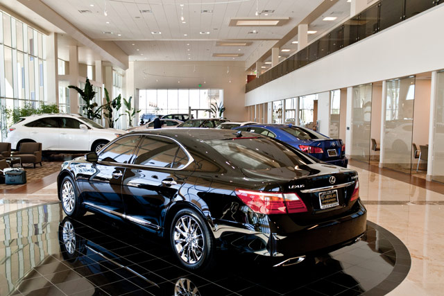 Lexus of Henderson Showroom