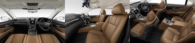 Lexus LS L-Select Topaz Beige