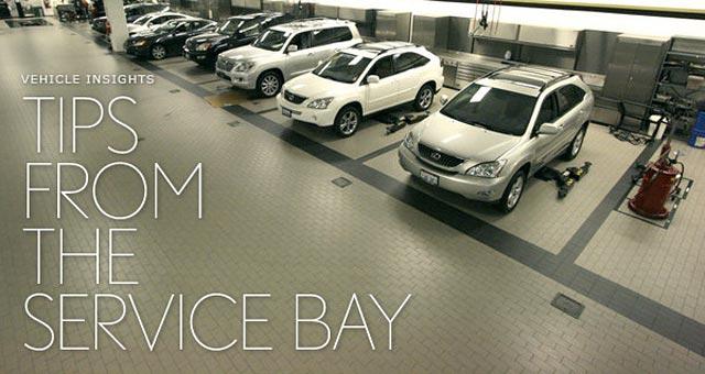 Lexus Dealership Tips