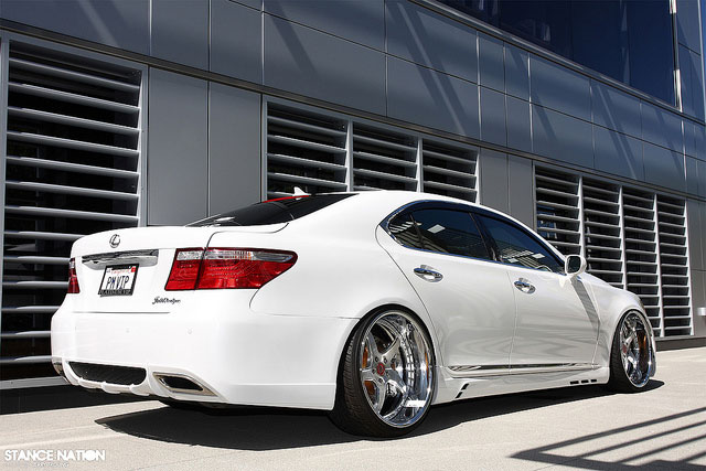Lexus LS 460 Stance Nation