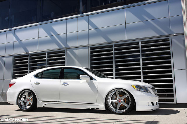 Lexus LS 460 Stance Nation Side Profile
