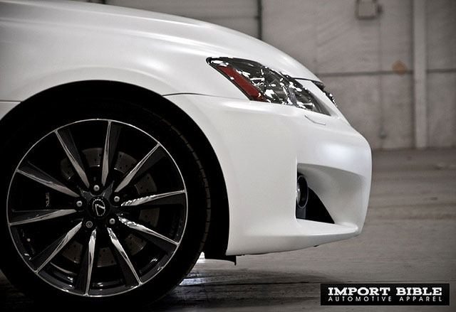 Matte White Lexus IS-F Wheel