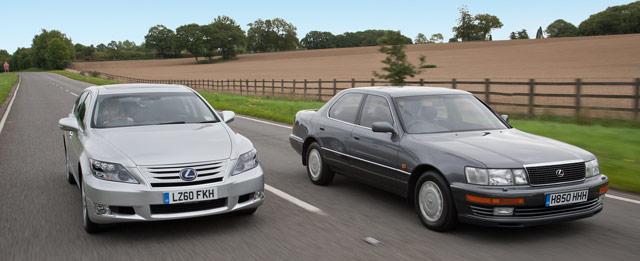 Lexus LS 400 and Lexus LS 600hL