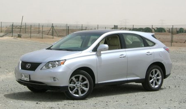 Lexus RX 350 Panoramic Glass Roof Front