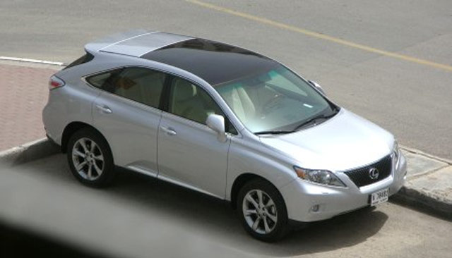 Lexus RX 350 Panoramic Glass Roof