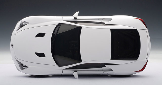 Lexus LFA Die-Cast Model by Auto Art on Side