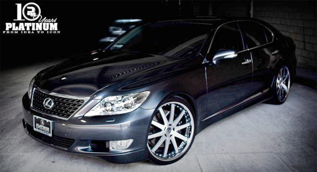 Lexus LS Sport by Platinum Motorsports