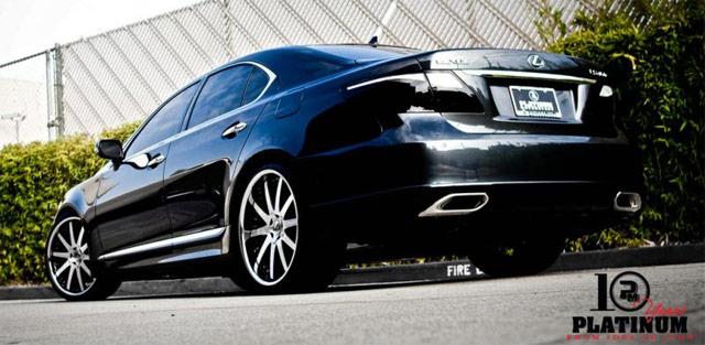Lexus LS Sport by Platinum Motorsports Rear