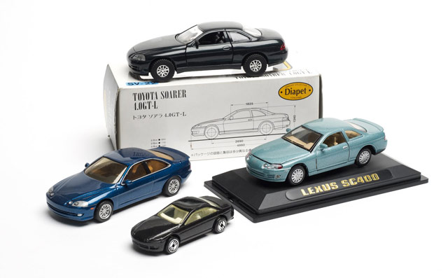 Lexus First Generation SC Die-cast Models