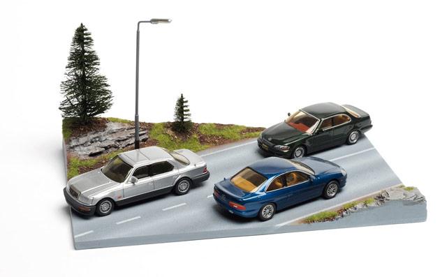 Lexus ES 300, SC 400 & LS 400 Die-cast Models